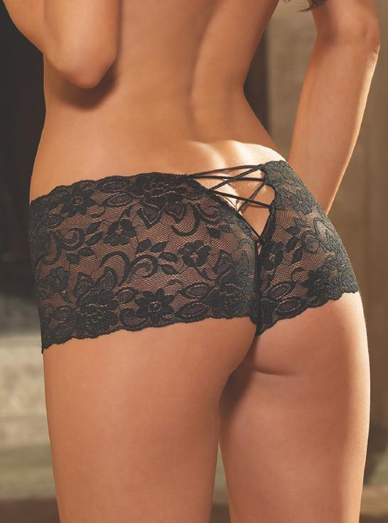 Lace naughty shorts