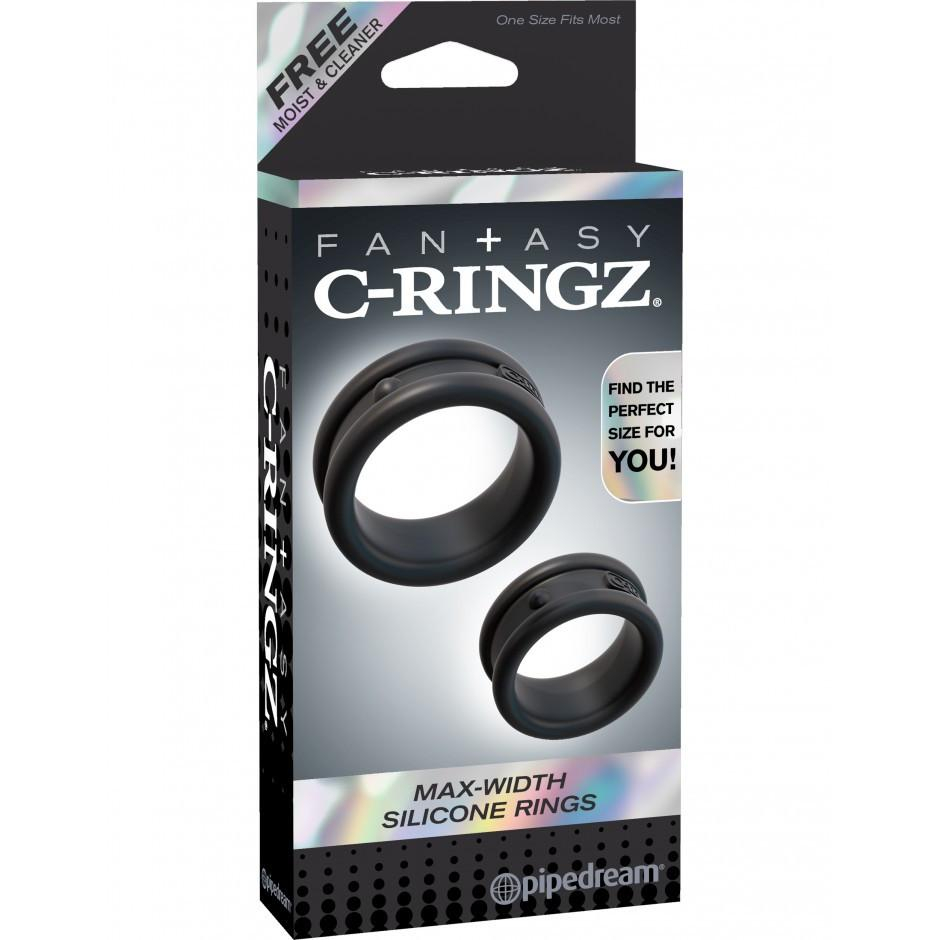 C-ringz Max Width Silicone Rings